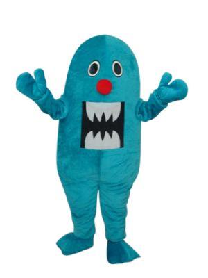 Giant Blue Shark Sea Animal Mascot Costume