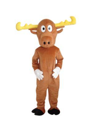 Light Brown Reindeer Mascot Costume