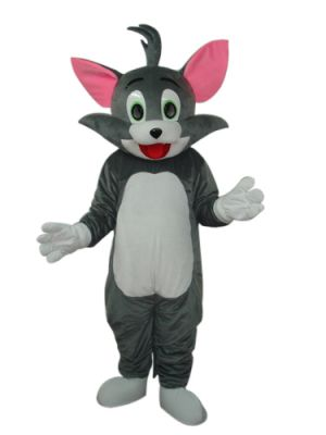 Tom Cat Mascot Costume