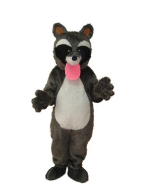 Plush CAT tongue out Mascot Costume