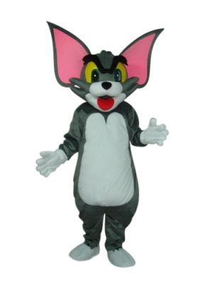 Tom Cat Huge ears Mascot Costume