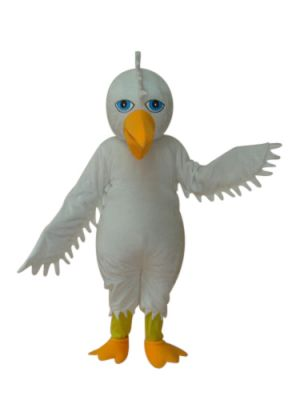 Giant white Eagle Hawk Mascot Costume