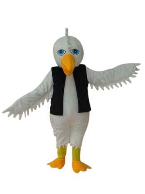 Eagle Hawk in VEST Mascot Costume