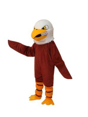 Giant Brown Eagle Mascot Costume