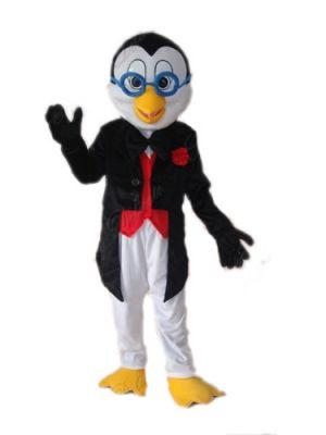 Penguin in and Glasses Mascot Costume