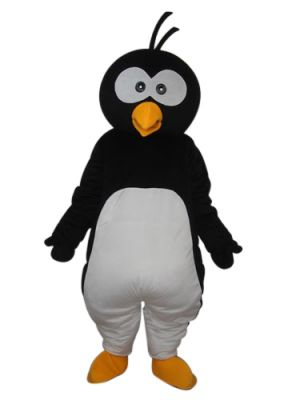 Big Head Little Penguin Mascot Costume