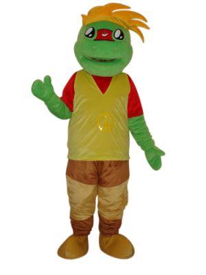 Frog Prince Mascot Costume
