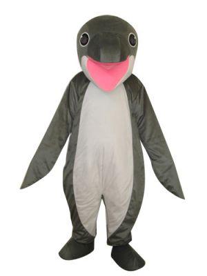 Grey Whale Mascot Costume