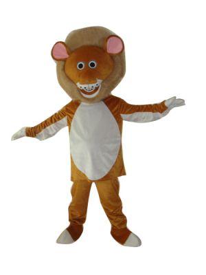 American Lion Puma Concolor Mascot Costume