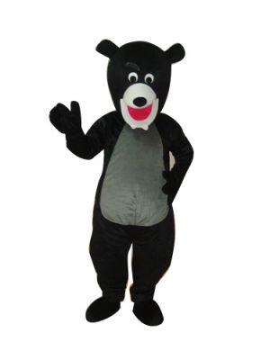 Black Bear Mascot Costume Performance Clothing