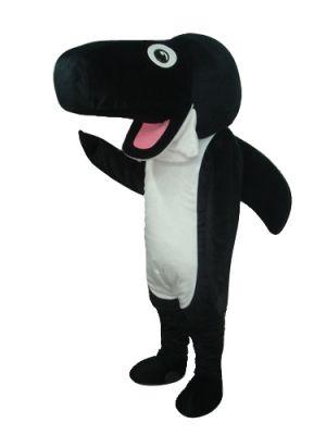 Black Whale Mascot Costume
