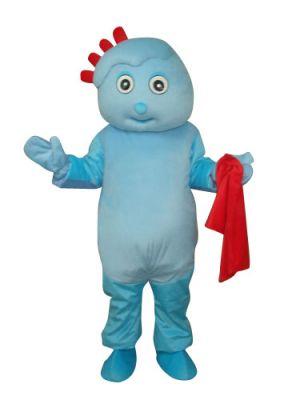Blue Nauty Boy Mascot Costume
