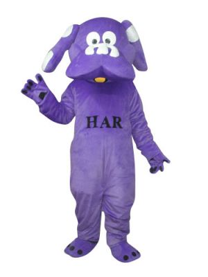 Blue Puppy Dog Mascot Costume