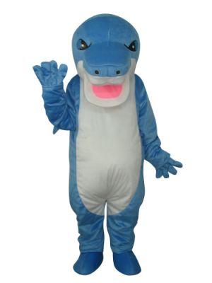 Blue Shark Mascot Costume
