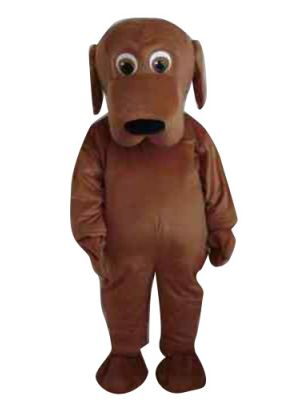Brown Dog Puppy Mascot Costume