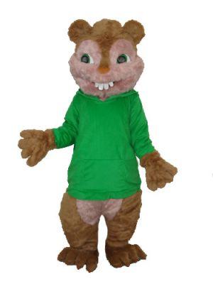 Chinpmunk Squirrel Theodore Mascot Costume