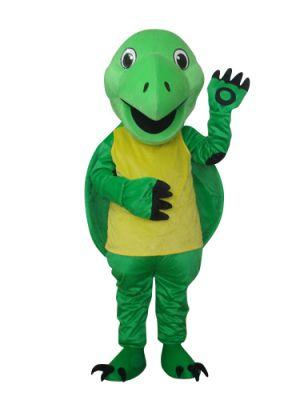 Cute Green Turtle Tortoise Mascot Costume