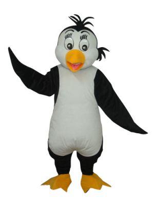 Cute Penguin Orange Beak Mascot Costume
