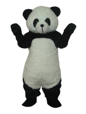 Delux Plush Panda Mascot Costume
