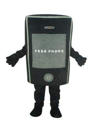 Deluxe Black Apple iPhone Mascot Costume