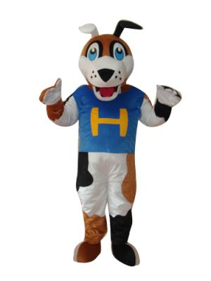 Dog Puppy Blue Mascot Costume