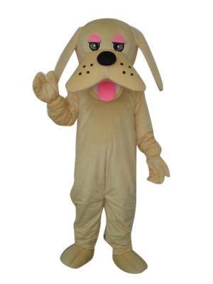 Dog Puppy Tongue Out Mascot Costume