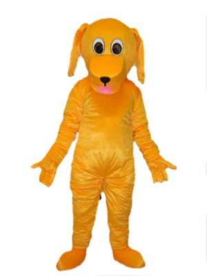 Little Orange Dog Puppy Mascot Costume