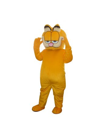 Garfield Cat Mascot Costume