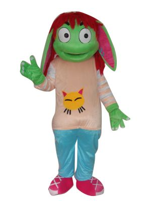 Green Mosquito Insect Mascot Costume