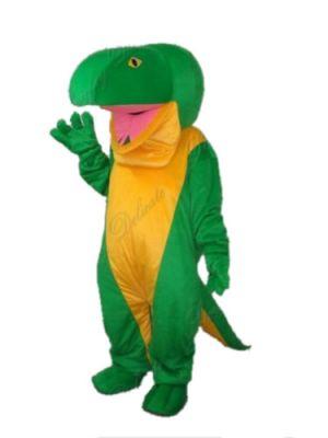 Green Snake Mascot Costume
