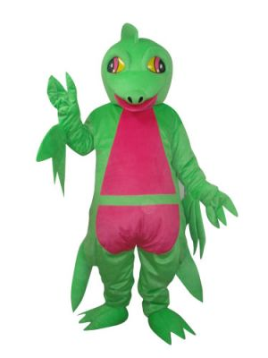 Green Pterosaur Dinosaur Mascot Costume