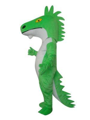 Horse Like Dragon Mascot Costume