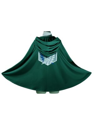 Attack on Titan Cloak Survey Corp Soldier Wings of Freedom Cosplay