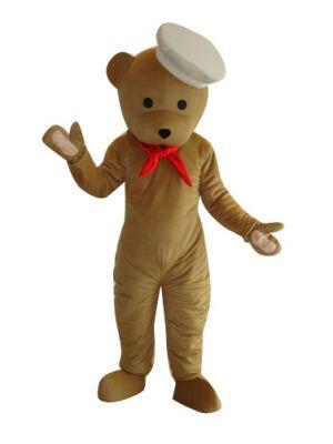 Kitchen Teddy Bear Mascot Costume