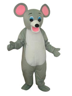 Light Grey Little Mouse Rat Cartoon Mascot Costume