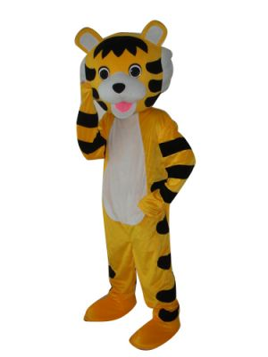 Little Tiger Cute Mascot Costume