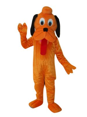 Long Tongue Out Dog Puppy Mascot Costume