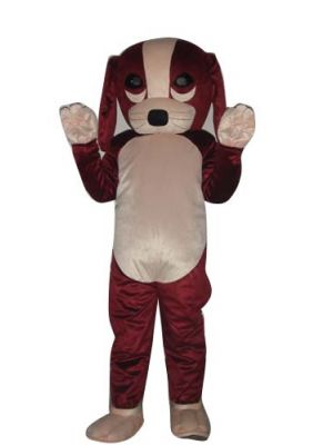 Lovely Dog Puppy Mascot Costume