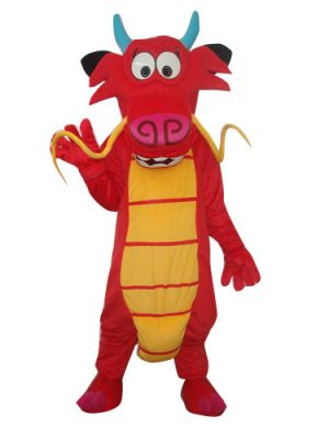 Mushu Dragon Mascot Costume of Mulan