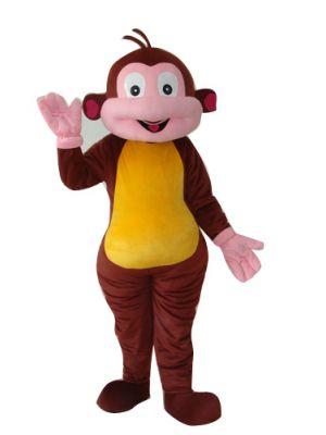 Halloween Brown Monkey Mascot Costume