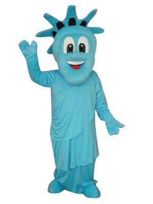 New York Statue Of Liberty Mascot Costume