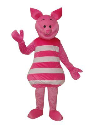 Pink Piglet Pig Mascot Costume