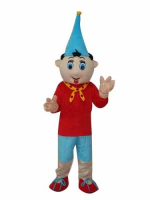 Pinocchio Puppet 4th Version Mascot Costume