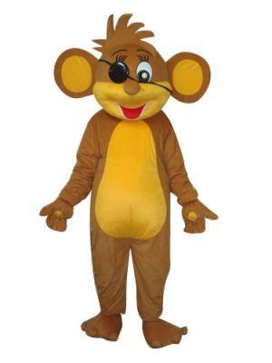 Pirate Monkey Mascot Costume