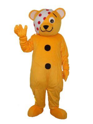 Pirate Yellow Bear Pudsy bear Mascot Costume
