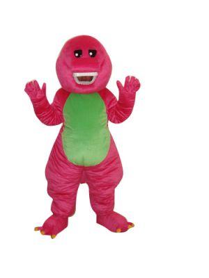 Discounted Red Dinosaur Dragon Mascot Costume w Big Smile