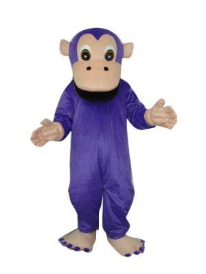 Purple Cute Monkey Orangutan Gorilla Mascot Costume Fursuit