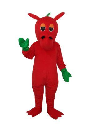 Red Pterosaur Dinosaur Dragon Mascot Costume