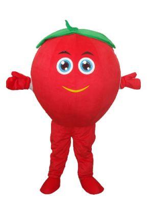 Red Tomato Bob Mascot Costume