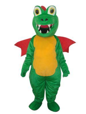 Huggable Dragon with Wings Mascot Costume
